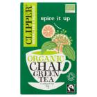 CLIPPER Chai Zielona herbata 20 torebek BIO Fair Trade 1szt