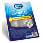 LISNER Filety śledziowe w oleju a la Matjas +25% GRATIS 750g