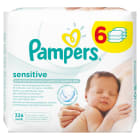 PAMPERS Sensitive Chusteczki nawilżane 6x56 szt 1szt
