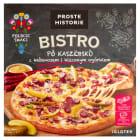 PROSTE HISTORIE BISTRO po Kaszubsku Pizza z kabanosem i kiszonym ogórkiem 400g