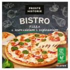 PROSTE HISTORIE BISTRO Pizza z kurczakiem i szpinakiem 435g