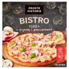 PROSTE HISTORIE BISTRO Pizza z szynką i pieczarkami 420g