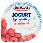 PIĄTNICA Jogurt typu greckiego  z malinami 150g