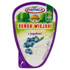 PIĄTNICA Serek wiejski z jagodami 150g