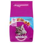 WHISKAS 1+ Pokarm Suchy Pełnoporcjowy dla Kotów z Tuńczykiem 1.4kg