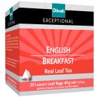 DILMAH Exceptional Herbata czarna Eanglish Brekfast 20 torebek 40g