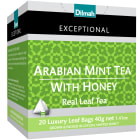 DILMAH Exceptional Herbata czarna cejlońska Arabian Mint Tea with Honey 20 torebek 40 g