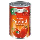 LA CATERINA Pelati Pomidory całe bez skórki w soku 400g