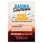 BARWA SIARKOWA MOC Antybakteryjne mydło siarkowe w kostce 100g