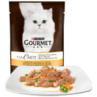 GOURMET A la carte Pokarm dla kotów - indyk i warzywami (saszetka) 85g