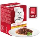 GOURMET mon Petit Pokarm dla kotów - MIX Drobiowy 300g