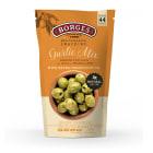BORGES Oliwki zielone z czosnkiem i ziołami prowansalskimi Garlic Mix 150g