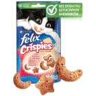 FELIX® Crispies Przekąska dla kotów o smaku łososia i pstrąga 45g