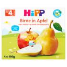 HIPP Owocowa Chwila Przecier owocowy Jabłka-Gruszki - po 4 miesiącu (4x100g) BIO 400g