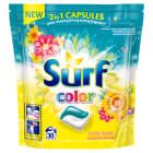 SURF Kapsułki do prania koloru Fruity fiesta & Summer flowers 30 szt. 1szt