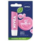 NIVEA Pomadka pielęgnacyjna Soft Rose 4,8g 1szt