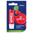 NIVEA Pomadka Fruity Shine Strawberry 4,8g 1szt