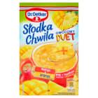 DR. OETKER Słodka Chwila Kisiel mango-ananas z kawałkami owoców 32g