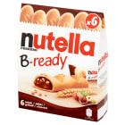 NUTELLA B-Ready Wafelki z kremem orzechowym (6x22g) 132g