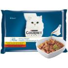 GOURMET Perle Pokarm dla kotów- Fileciki w smakowitym sosie (4 saszetki ) 340g