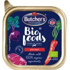 BUTCHER'S Bio Foods Karma dla psa z wołowiną i cielęciną BIO 150g