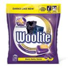 WOOLITE Black Darks Denim Kapsułki do prania 28 szt. 616g