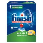 FINISH All in 1 Tabletki do zmywarek - Powerball Lemon 52szt. 1szt