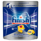 FINISH POWERBALL Quantum MAX Kapsułki do zmywarki Lemon Sparkle 36 szt. 1szt