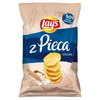 LAYS z Pieca Chipsy Naturalnie Solone 130 g