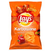 LAYS KARBOWANE Chipsy Papryka 130g