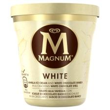 MAGNUM Lody waniliowe z kawałkami białej czekolady 440ml
