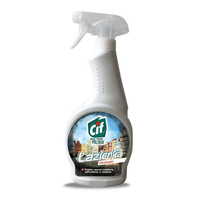 Cif Płyn Do Czyszczenia łazienki Spray