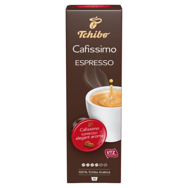 Tchibo Cafissimo Kawa Mielona W Kapsułkach Espresso Elegant Aroma 10 Kapsułek