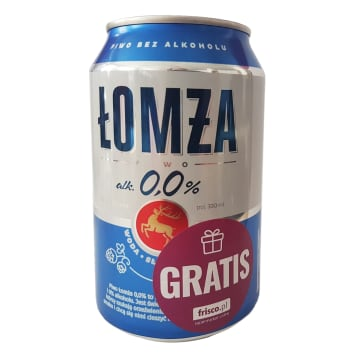 ŁOMŻA 0% can 330 ml