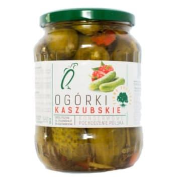 Ogórki konserwowe kaszubskie - Orzeł Polska nadadzą twoim potrawom niepowtarzalnego smaku.