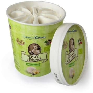 CASA DEL GELATO Organic ice cream 1 pc
