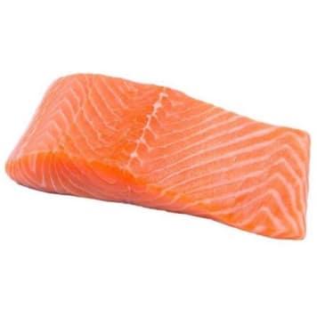 FRISCO FISH Norwegian salmon fillet extra with skin - fresh (200g-300g) 250g