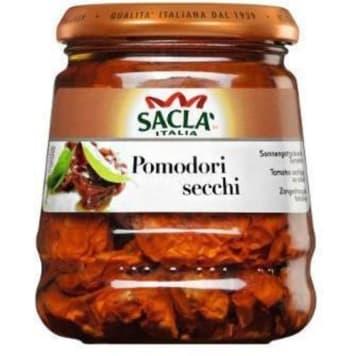 Pomidory suszone w oleju roślinnym - Sacla, Wyjątkowy składnik potraw o doskonałym smaku.