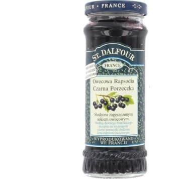 Czarna porzeczka - St. Dalfour Owocowa Rapsodia. Doskonały smak i najwyższa jakość produkcji.