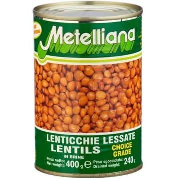 Soczewica – Metelliana jest delikatna w smaku. Sprawdzi się jako składnik wielu potraw.