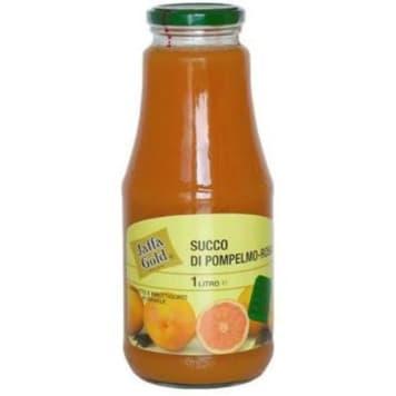 Jaffa Gold - Sok z czerwonych grejpfrutów 1000ml to 100% pysznego soku z owoców. Bogaty w witaminy.