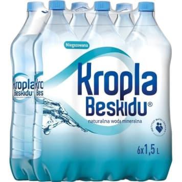 Naturalna woda mineralna niegazowana Kropla Beskidu