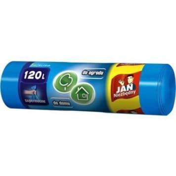 Worki na śmieci 120l – Jan Niezbędny niezastąpione w każdym gospodarstwie domowym.