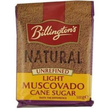 Cukier trzcinowy Muscovado jasny - Billingtons