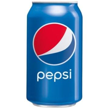 Pepsi - Napój gazowany w puszce. Kultowy smak i natychmiastowe orzeźwienie.