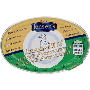 Pasztet z kaczki z winem Madera - Jensens. Pasztet dla prawdziwych koneserów.