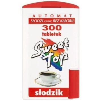 Sweet top dysponser 300 tabletek - Domos. Najlepszy zamiennik cukru.