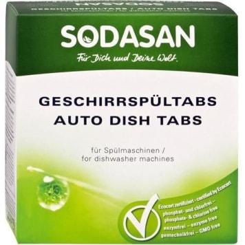 Tabletki do zmywarek – Sodasan doskonale myją i nabłyszczają naczynia.