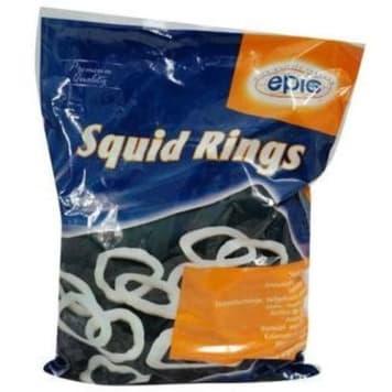 Kalmary mrożone- Epic. Odznaczają się doskonałym smakiem i cennymi składnikami odżywczymi.