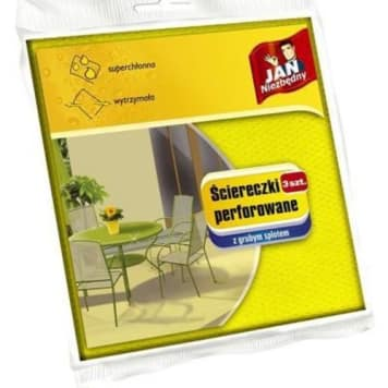 Ściereczki perforowane – Jan Niezbędny pomogą utrzymać czystość w każdym domu.